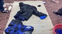 Tìm tung tích nạn nhân dạt vào bờ biển Nghệ An