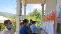 Huyện biên giới Nghệ An khắc phục khó khăn chuẩn bị bầu cử sớm