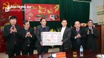 Phó Bí thư Thường trực Tỉnh ủy thăm, chúc Tết tại huyện Quỳ Châu