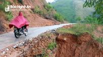 Ẩn họa trên tuyến đường Yên Tĩnh - Hữu Khuông