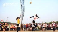 Cuốn hút các hoạt động văn hóa, thể thao tại lễ hội Làng Vạc