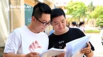 Thí sinh Nghệ An: đề Lịch sử khó, đề Địa lý - GDCD dễ có điểm trung bình