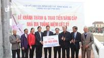Hỗ trợ nâng cấp nhà bia tưởng niệm liệt sỹ xã Quỳnh Đôi
