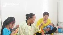 Hơn 150 suất cháo cho bệnh nhân nghèo ở Nghĩa Đàn