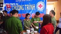 Trao 250 bát cháo tình thương cho bệnh nhân ở Anh Sơn
