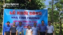 Sở Nội vụ hỗ trợ xây dựng nhà tình nghĩa ở Quế Phong