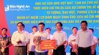 Hơn 4,3 tỷ đồng ủng hộ xóa nhà dột nát, tạm bợ ở thị xã Hoàng Mai