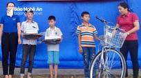 Hoạt động thiết thực vì người nghèo ở Đô Lương và Nghĩa Đàn
