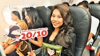 Vietjet mang yêu thương ngọt ngào tới phụ nữ Việt Nam trên độ cao 10.000 m