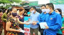 Xi măng Vicem Hoàng Mai phát miễn phí gần 100.000 khẩu trang