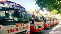 Hôm nay, xe buýt Thạch Thành tạm dừng hoạt động