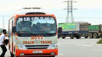Xe buýt Thạch Thành hoạt động trở lại tại 4 tuyến với 35 phương tiện