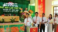 Đảng bộ xã Tân Thắng (Quỳnh Lưu) đại hội lần thứ IV, nhiệm kỳ 2020 - 2025
