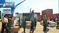 Ủng hộ 12 tấn hàng hóa cho TP Hồ Chí Minh và các tỉnh, thành phía Nam