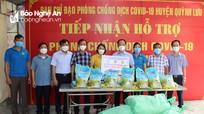Nhiều đơn vị ủng hộ Quỳnh Lưu phòng, chống dịch Covid-19