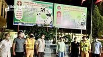 Tặng 800 két nước khoáng cho Bệnh viện dã chiến số 1- Hưng Nguyên