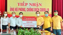 Ủy ban MTTQ tỉnh Nghệ An tiếp nhận 1,5 tỷ đồng ủng hộ phòng, chống dịch Covid-19