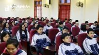 Hơn 100 học sinh Nghệ An chính thức bước vào Kỳ thi Học sinh giỏi Quốc gia