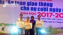 Đoàn Nghệ An đoạt giải cao tại cuộc thi An toàn giao thông quốc gia