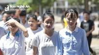 Học sinh Nghệ An hào hứng với đề thi Ngữ văn bàn về sự xấu hổ và nỗ lực