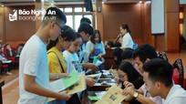 """Nhiều trường đại học ở Nghệ An """"ngóng"""" sinh viên"""