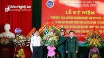 Trường Đại học Vinh kỷ niệm 74 năm ngày thành lập Quân đội Nhân dân Việt Nam