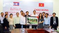 Tăng cường hợp tác đào tạo giữa Trường Đại học Sư phạm KT Vinh và nước CHDCND Lào