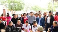 Người dân thành phố Vinh được miễn phí các dịch vụ về dân số