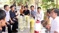 Sở GD & ĐT thăm hỏi các gia đình có học sinh bị đuối nước