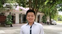 Nam sinh Nghệ An duy nhất đạt điểm 10 môn Toán