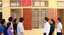 Khánh thành nhà công vụ cho trường vùng lũ Kỳ Sơn