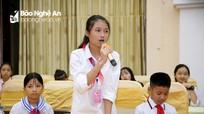 Trẻ em Nghệ An mong muốn được lắng nghe, chia sẻ, không sử dụng roi vọt