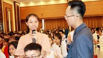 Học sinh xứ Nghệ hào hứng tìm cơ hội du học truyền lửa 2019
