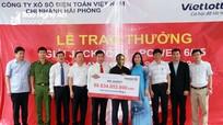 Vietlott trao giải thưởng 80 tỷ đồng cho khách hàng Nghệ An
