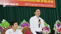 Giám đốc Sở Giáo dục và Đào tạo Nghệ An đối thoại với 200 cán bộ, giáo viên vùng cao