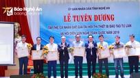 Nghệ An khen thưởng nhà giáo đạt giải cao tại các cuộc thi thuộc lĩnh vực nghề nghiệp
