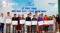 BlueScope Zacs trao tặng nhiều mái nhà tình thương cho các hộ khó khăn ở miền Tây Nghệ An