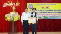 Nghệ An: Khen thưởng học sinh đạt giải Nhất cuộc thi học tập và làm theo Bác Hồ