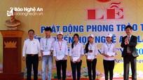Hơn 190.000 học sinh Nghệ An được trao học bổng khuyến học