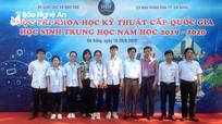 Nghệ An giành giải Nhất tại Cuộc thi Khoa học kỹ thuật cấp quốc gia