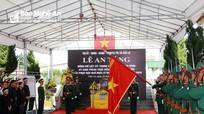 Cán bộ, nhân dân TX Cửa Lò trang trọng tiễn biệt liệt sỹ Trung tá Phùng Thanh Tùng
