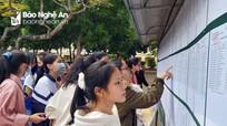 Danh sách các thủ khoa kỳ thi học sinh giỏi tỉnh lớp 12 ở Nghệ An