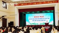 Sau hơn 10 năm, Nghệ An khởi động lại Hội thi Giáo viên chủ nhiệm lớp giỏi
