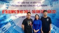 Nam sinh lớp 11 của Nghệ An giành Huy chương Vàng Olympic Tin học Châu Á