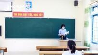 Phòng thi 'đặc biệt' chỉ có 1 thí sinh thi vào trường chuyên ở Nghệ An
