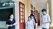 Học sinh lớp 12 ở Nghệ An tập dượt cho Kỳ thi tốt nghiệp THPT năm 2021
