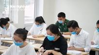 Nghệ An hoàn thành việc chấm thi tốt nghiệp THPT năm 2021