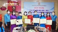Công đoàn ngành Giáo dục tổ chức Hội nghị tổng kết năm học 2020 – 2021