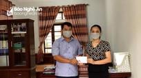Học sinh một số trường ở Nghệ An được tặng thiết bị học trực tuyến