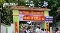 Nhiều trường ở Nghệ An vẫn được đón học sinh đến lớp học tập
